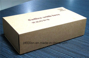 Printed Kraft Paper Box for Coffee Tea Packaging Low Price pictures & photos