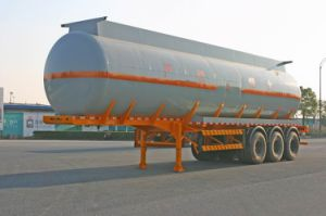 42500L SUS Tank Transportation for Chemical Fluid Delivery (HZZ9405GHY) pictures & photos