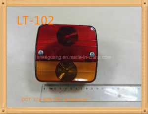 Tail/Stop/Turn Signal Reflector Lamp Lt-102 with E4 /E9 Certification pictures & photos