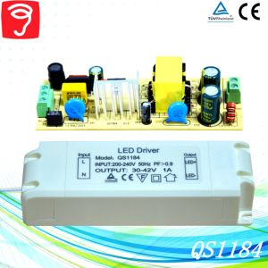 45W Hpf Singel Voltage Isolated External LED Power Supply with Ce TUV QS1184 pictures & photos