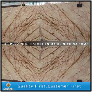 Crema EVA Beige Marble Stone Slabs for Background Wall/Tiles pictures & photos