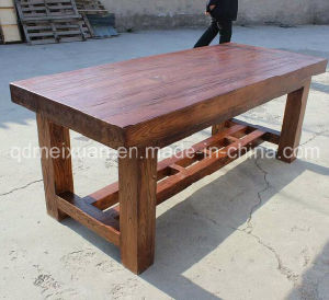 Solid Wooden Dining Desk Living Room Furniture (M-X2382) pictures & photos