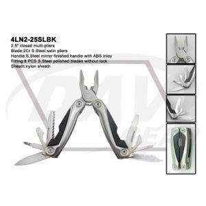 """4""""Blue Anodized Alum Handle Multi-Tools with Black Pliers: 4ln1-40blbk pictures & photos"""