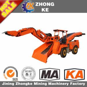 High Performance Crawler Grilled Slag Machine for Underground Mine