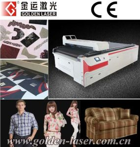 Apparel/Clothing/Garment Laser Cutting Machine with CAD Software (CJG-160250)