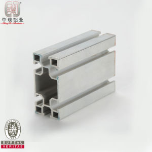 Extruded Aluminium Profile of Rectangular Tube (ZP-I421)