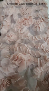 New Design Laser Flower Pieces Embroidery Fabric pictures & photos