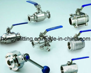 Sanitary Stainless Steel Ball Valve (HYBA01)