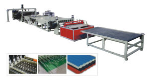 PC, PP, PVC Corrugated Board Extrusion Line pictures & photos
