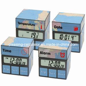 New Mini Magic Cube Alarm Clock, Digital Clock (KT-5239)