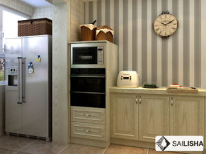 Turkey Modern Home Hotel Furniture Island Wood Kitchen Cabinet pictures & photos