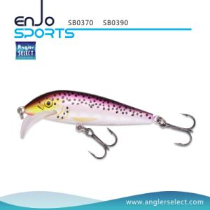 9cm Stick Bait Shallow Fishing Tackle Lure with Vmc Treble Hooks (SB0390) pictures & photos