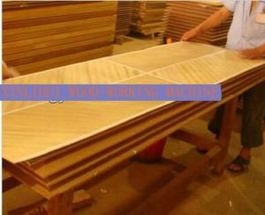 Wood Hot Press Machine for Furniture Laminating Machine pictures & photos