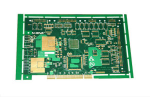 4 Layer High-Tech Rigid Gold Finger Printed Circuit Board