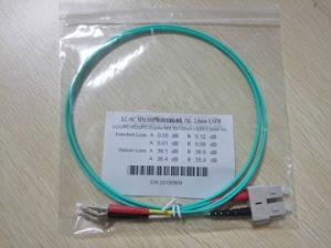 Multimode 10 Gig Om4 LC/St/FC/Sc Duplex Fiber Optic Patchcord pictures & photos