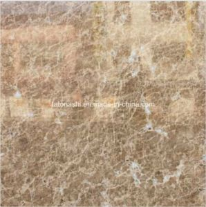 Natural Beige Polished Cappuccino Marble Slab pictures & photos