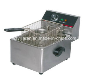 CE Approved Electric Single-Tank Deep Fryer
