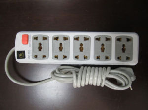 No. 205 with 5 Outlets Electric Extension Socket pictures & photos