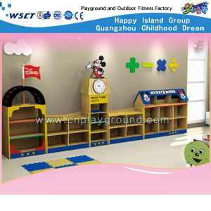 Lovely Mickey Wooden Storage Cabinet (HB-04901) pictures & photos