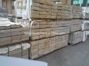 Yellow Granite Cubic Stone for Paving pictures & photos