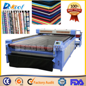 1530 Automatic Feeding Cloth CNC Cutter CO2 Laser Cutting Machine pictures & photos