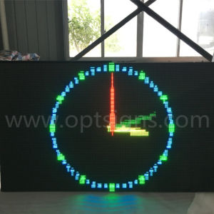 Optraffic Roadside Fixed Pole Mounted LED Light Display Advertising Board, Advertising LED Display pictures & photos