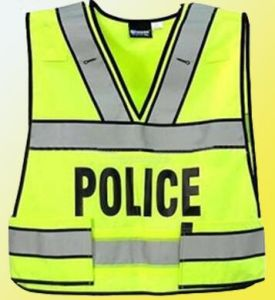 Reflective Traffic Vest for Policemen pictures & photos