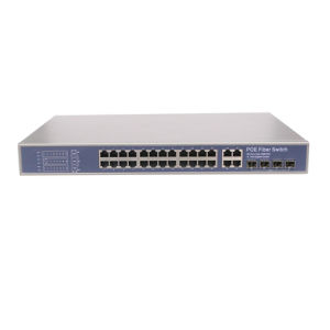 24+2ge Port Fast Ethernet Poe Switch with 2 Gigabit Uplink Power for Hik Camera pictures & photos