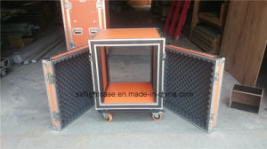 16u Plywood Flight Case for Sound pictures & photos