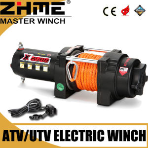 Light Duty Small 2500lbs Electric Winch with Synthetic Rope pictures & photos