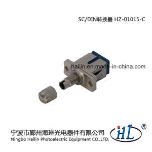 Sc-DIN/mm Fiber Optic Adapter for Fiber Optic Panel pictures & photos