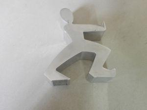 Man-Shaped Aluminium Logo pictures & photos