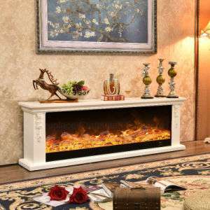 Simple European LED Lights 3D Flame Electric Fireplace (326S) pictures & photos