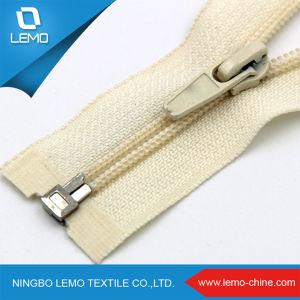 5# Zipper Auto-Lock Nylon Zipper pictures & photos