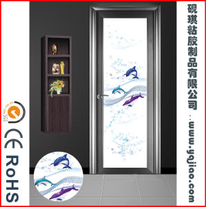 Factory Good Quality PVC Membrane Foil for Door pictures & photos