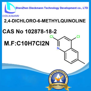 2, 4-Dichloro-6-Methylquinoline CAS No 102878-18-2 pictures & photos
