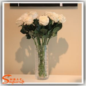 Best Selling Decorative Artificial Silk Rose Flower pictures & photos