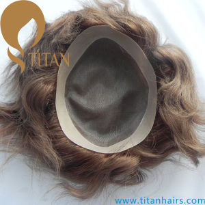 Titan Hair Toupee All Kinds of Human Hair Toupee for Men pictures & photos