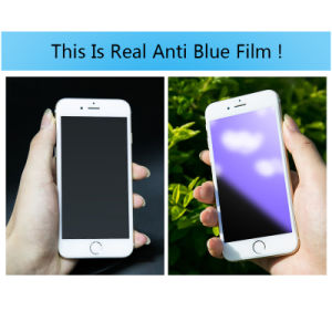 Transparent Anti-blue Ray Tempered Glass Film For iPhone 7/ 7 Plus pictures & photos
