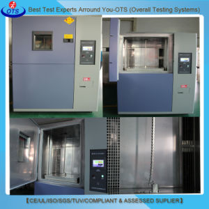 Ots Thermal Shock Test Chamber for High-Low Temperature Rapid Change Test pictures & photos