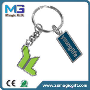 China Factory Produce Cheap Metal OEM Gift Keychain pictures & photos