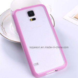 Full Covered Double Color Soft Mobile Phone Case for Samsung S5 pictures & photos