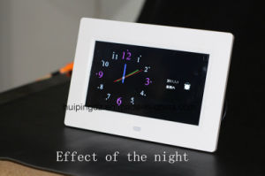Fashion 8 Inch LED Indoor Wall Clock pictures & photos