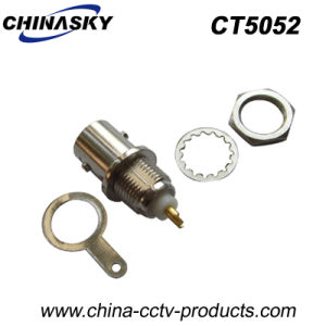 BNC Female Connector Bulkhead W/Nut & Washer for Security System (CT5052) pictures & photos