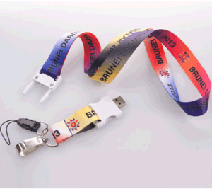 New Products Lanyard Neck Strap USB Flash Drive for Sale pictures & photos