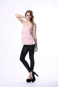Europe Women′s Summer Tide Lace Sun-Top, Slim Sexy Sun-Top pictures & photos