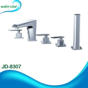 Deck Mounted Kaiping Factory 7 Years Guarantee Sleek Bathtub Shower pictures & photos