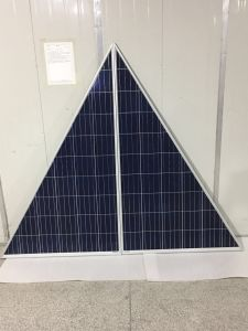 Abnormal Shape Triangle Solar Panel 120W 150W pictures & photos
