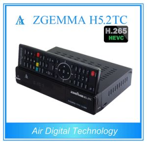 2017 New Digital Multistream Decoding Zgemma H5.2tc Satellite/Cable Receiver Hevc/H. 265 DVB-S2+2*DVB-T2/C Dual Tuners pictures & photos
