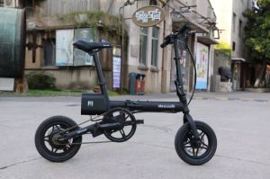 High Speed Aluminum Alloy Electric Folding Bicycle pictures & photos